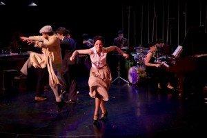 La bande du Tabou Cabaret Saint-Germain-des-Prés au Théâtre 13 Jardin par Irène Sadowska Guillon dans Danse tabou3-300x200