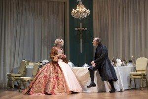 Elsa Lepoivre et Michel Vuillermoz dans Tartuffe à la Comédie-Française © Christophe Raynaud de Lage