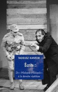 Écrits (2) de Tadeusz Kantor par Irène Sadowska-Guillon dans Rendez-Vous Litteraires kantor_ecrits_2-191x300