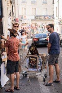 Les rues d'Avignon pendant le Festival